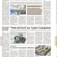 gli ultimi sognano a colori – La nuova Sardegna 12.1.2017