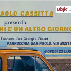 """Sassari, 23 luglio 2020 – Presentazione del libro """"domani è un altro giorno"""""""