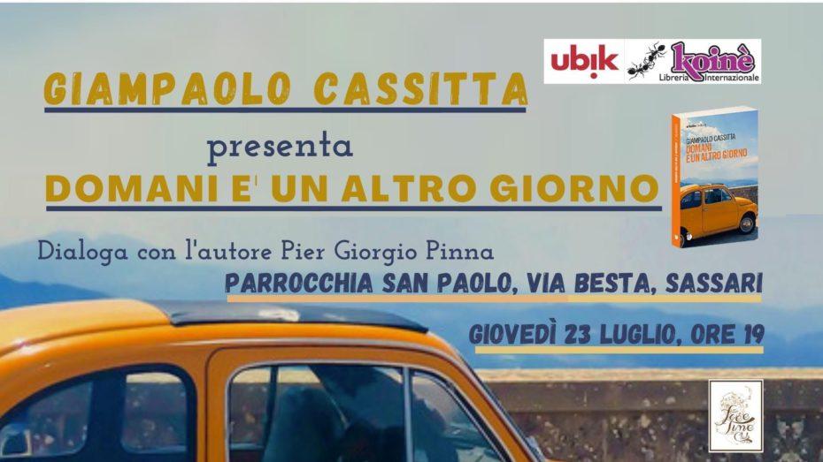 Sassari, 23 luglio 2020 - Presentazione del libro